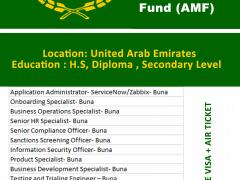 Arab Monetary Fund (AMF) Latest Career | UAE