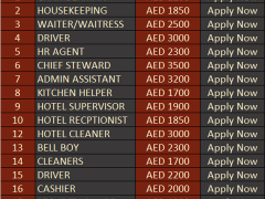 Abu Dhabi National Hotels Latest Career