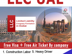LLC Company Job formation In Dubai