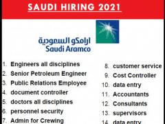Saudi Aramco Jobs 2021