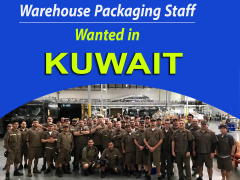 Warehouse packing jobs opening in Kuwait