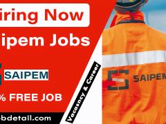 Latest Job in Saipem Jobs & Careers 2021