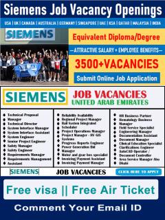 Latest Siemens Careers | Energy and Engineering Job Vacancies