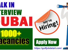 Walk in Interview Dubai Jobs in UAE for freshers Today-Tomorrow and This Week 2021