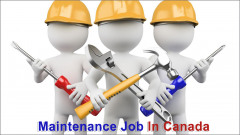 Maintenance Employee Wanted in Canada